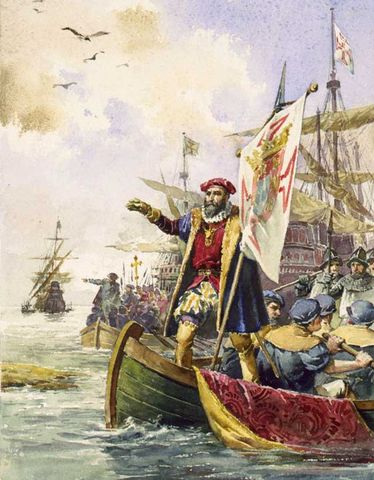 Vasco De Gama Landing in India