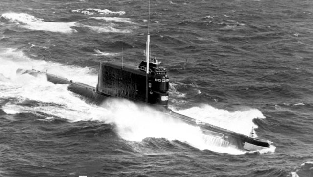 El buque explorador submarino