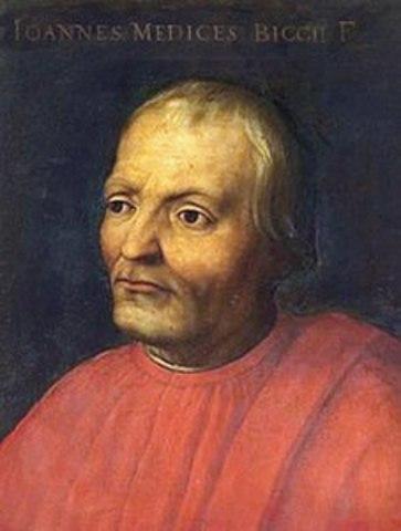 Giovanni di Bicci eletto Gonfaloniere di Giustizia