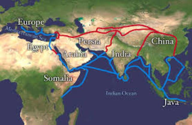 Silk Route Trade
