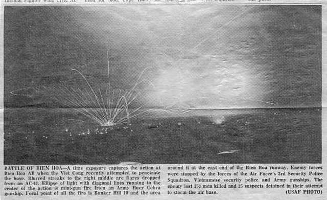 Outnumbered 5-1, how U.S. won battle of Bien Hoa Air Base in Vietnam