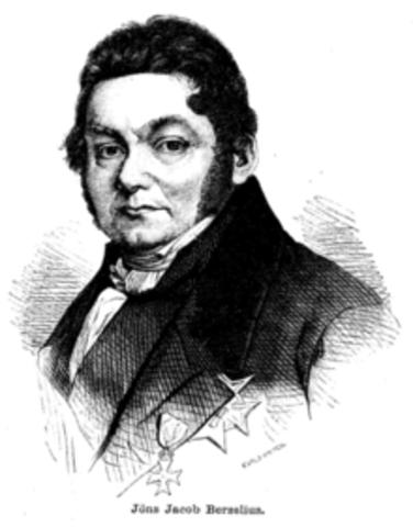 Siglo XIX Berzelius
