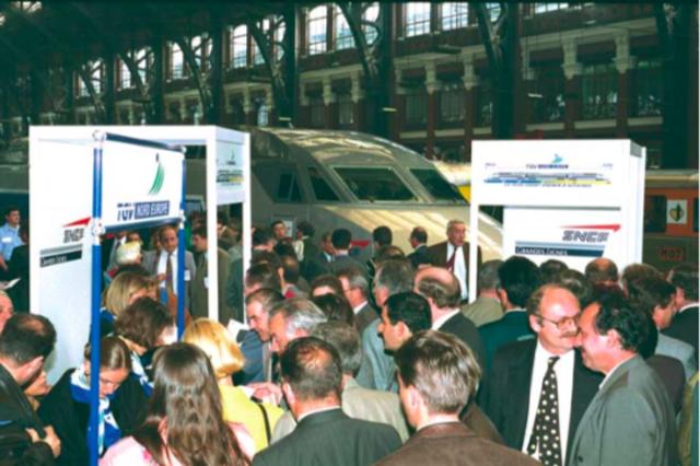 INAUGURATION DE LA LIGNE TGV LILLE-PARIS
