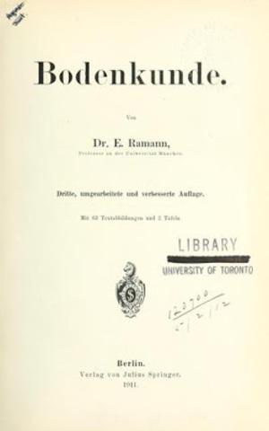 Siglo XIX Ramann
