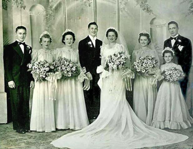 (1974) Casamiento de mis abuelos maternos