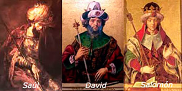 La monarquia: Saül, David i Salomó