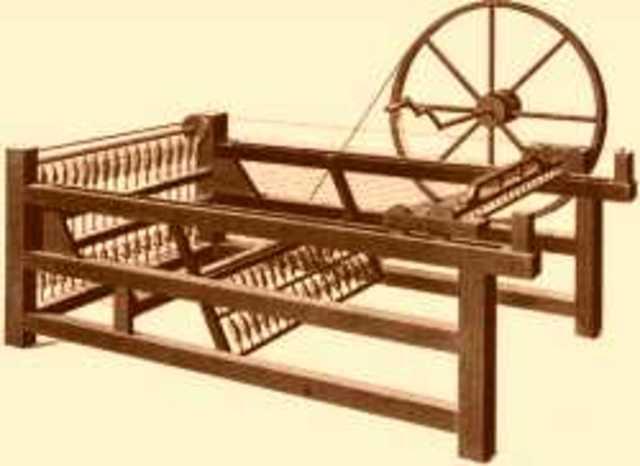 CARTWRIGHT Telar mecánico (Industria textil)