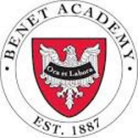 Pierson Gets Accepted into Benet Academy