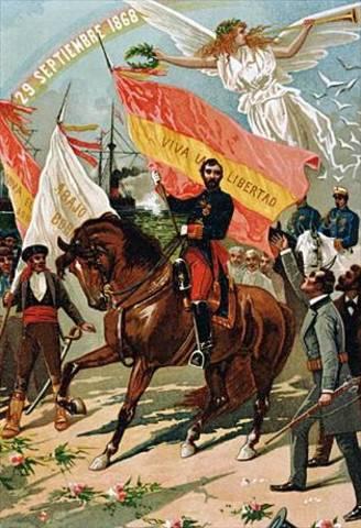 La Revolucion de 1868