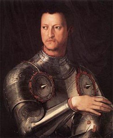 Cosimo I diventa DUCA di Toscana