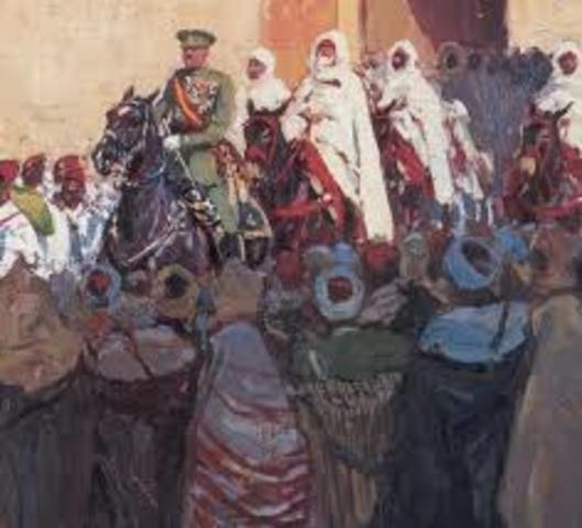 Protectorado hispano-francés en Marruecos