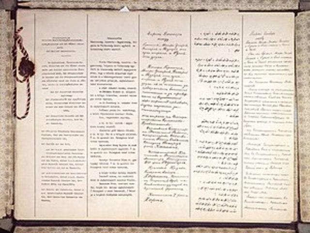 Tratado de Brest- Litovsk