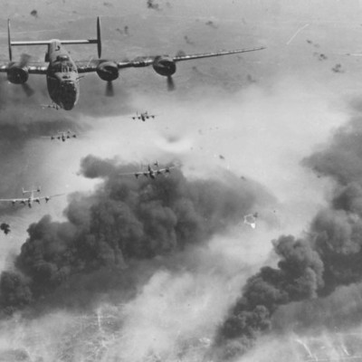 Into World War II timeline