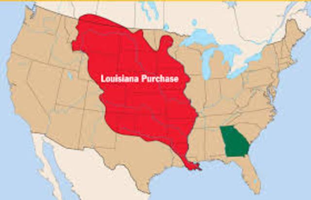 Louisiana Purchase - 1803