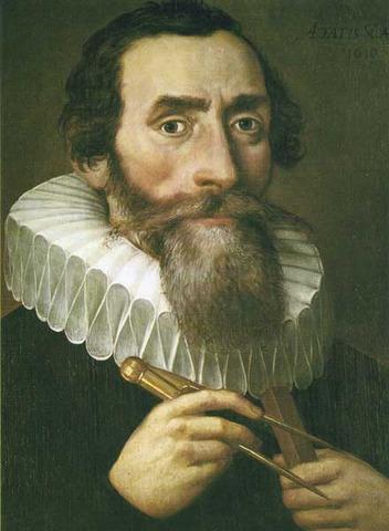 Johannes Kepler born