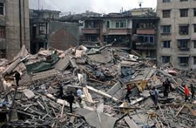 Earthquake in Sichuan, China!!!