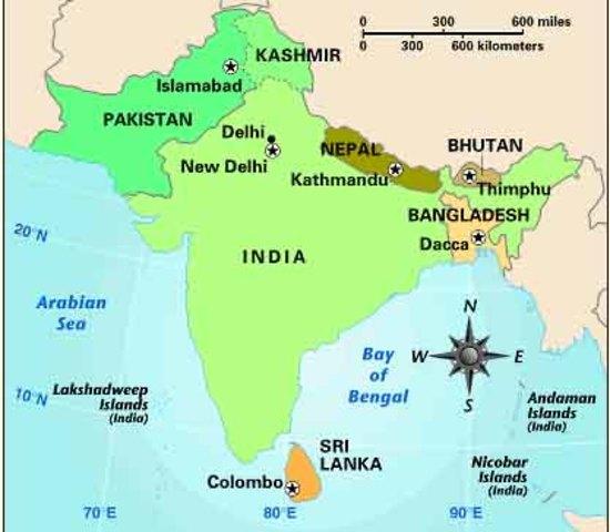 Formation of Bangladesh