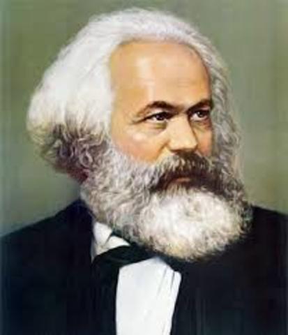 Carlos Marx: El materialismo, la lucha de clases, la revolución del proletariado.