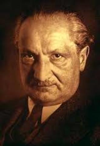 Martin Heidegger: el hombre un ser para la muerte
