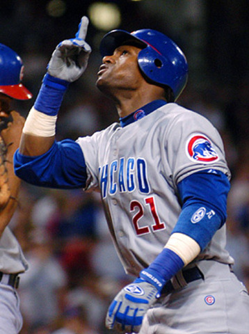 First 30-30 player for the Cubs