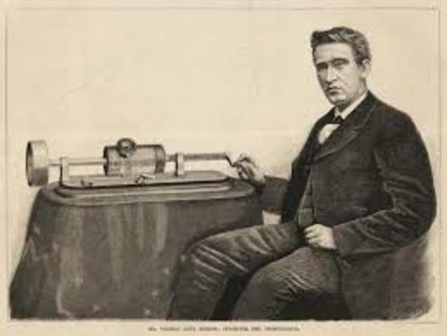Fonógrafo Thomas Alva Edison