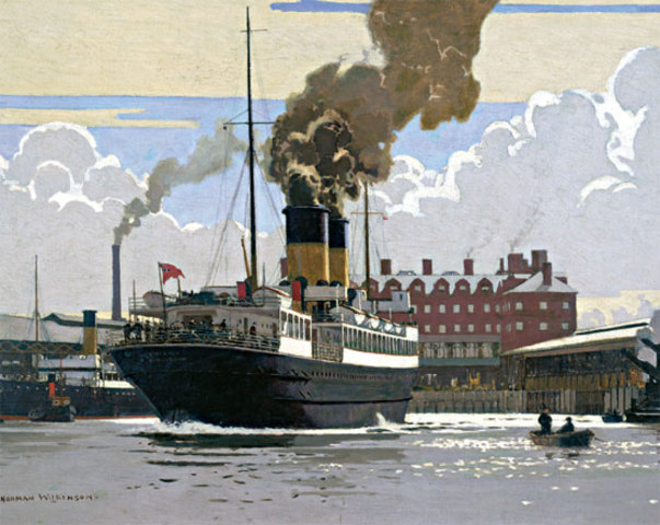 Invención del barco de vapor