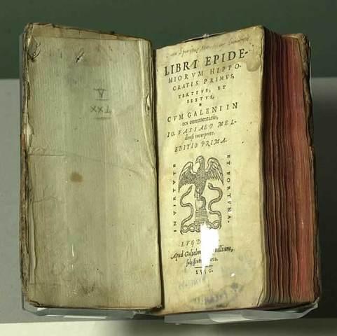 Publicación del libro Epidemiorum