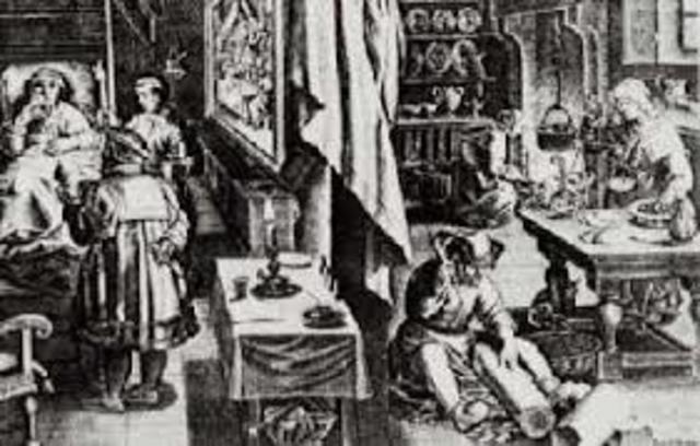 SIGLO VIII LAS ENFERMEDADES SE CONSIDERAN CASTIGO DIVINO