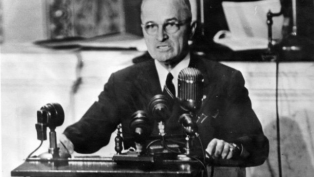 Truman Doctrine Issued