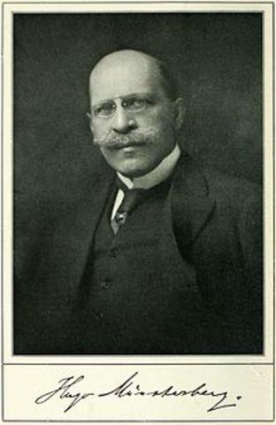 Hugo Musterberg.