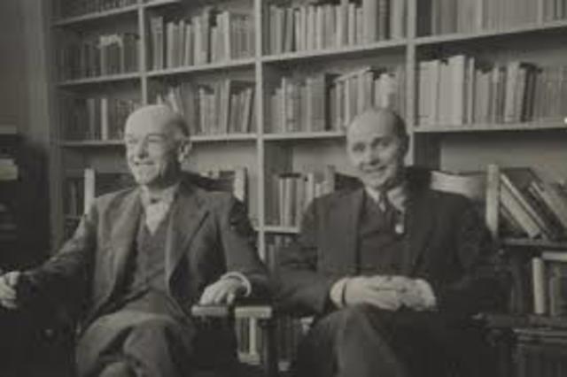 Elton Mayo y F. J  Roetlisberger.