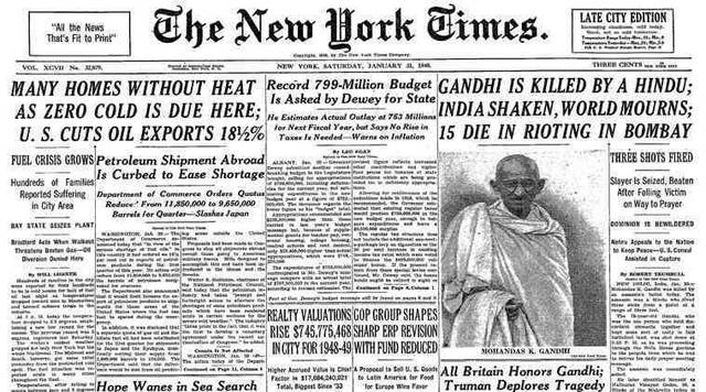 The Death of Gandhi