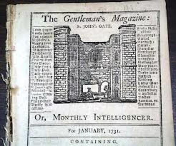 Primeras revistas