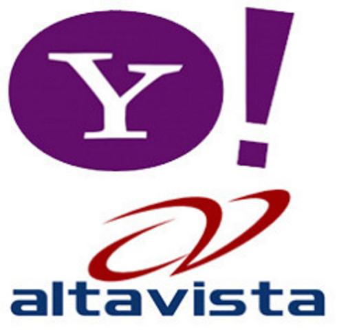 Yahoo! y Altavista lanzan sus motores de búsqueda