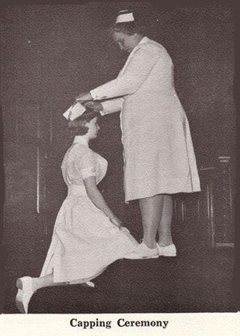 Enfermeras al Hopsital de Bellevue