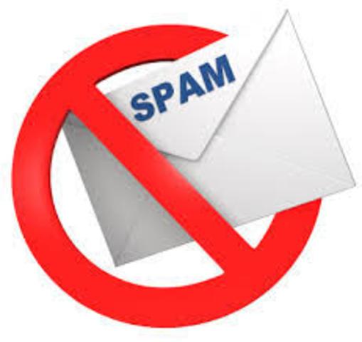 Se firma la primera ley anti spam en Estados Unidos.
