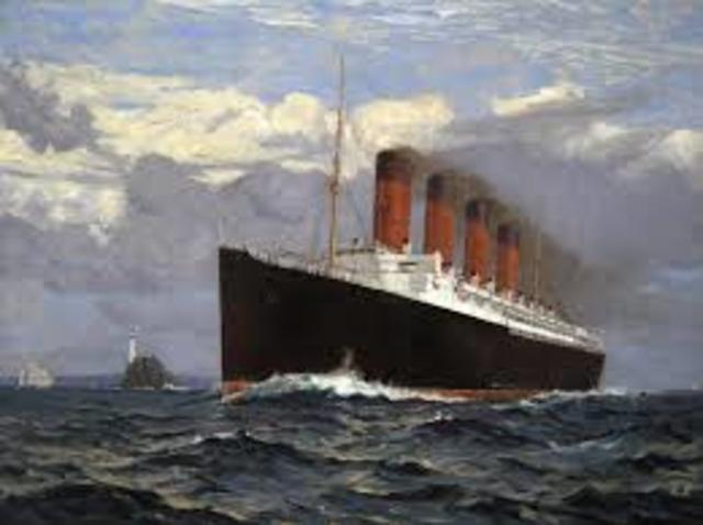Lusitania War Ship