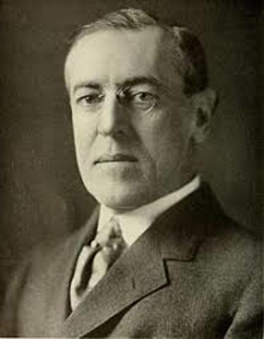 Wilson's Presidency term