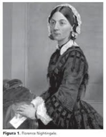 Florence Nightingale es reconocida