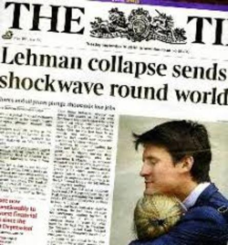 The Collapse of the Lehman Brothers