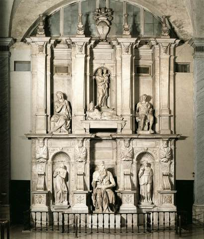 Pope Julius 2nd's tomb