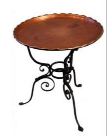 ANT: Tavolino in metallo by unknown artist