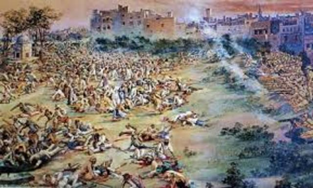 Massacre at Amritsar