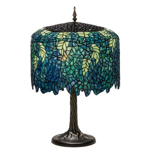 ICO: Wisteria lamp by Tiffany