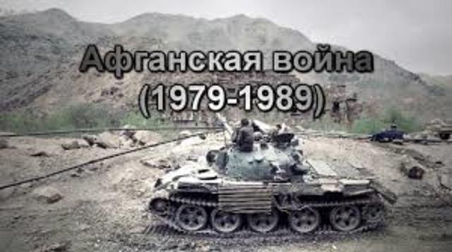 Invasión Soviética en Afghanistán