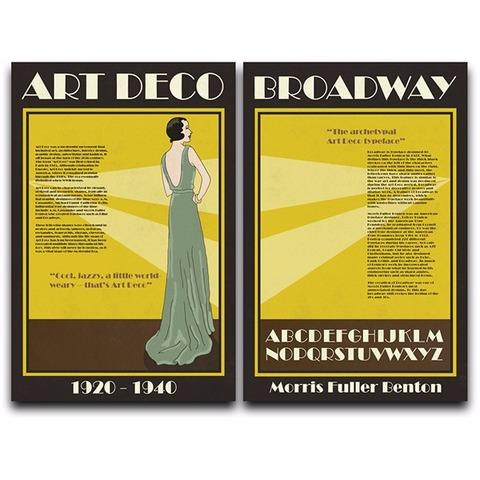 ICO: Font Broadway by Benton
