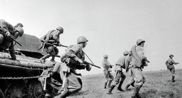 La II Guerra Mundial.