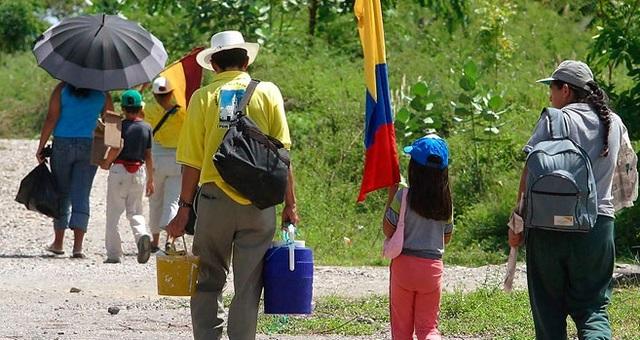 COLOMBIA: Creación del Plan Nacional para la Atención Integral a la Población Desplazada por la Violencia
