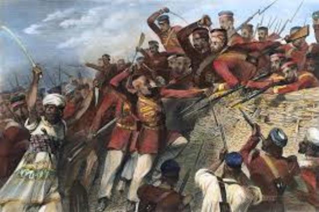 Indian Mutiny (Sepoy Mutiny)