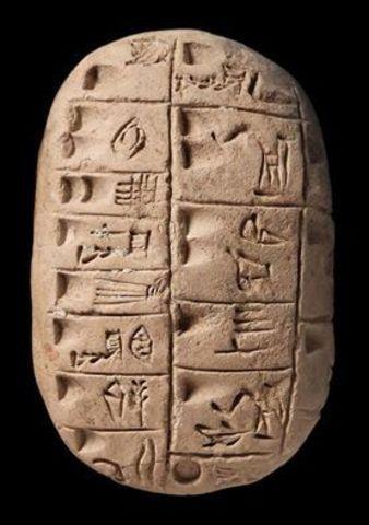 Notación posicional para números en Mesopotamia
